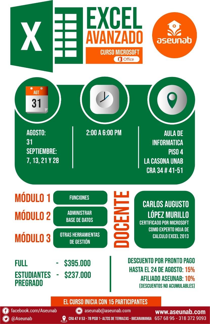 Curso de Microsoft Excel Avanzado